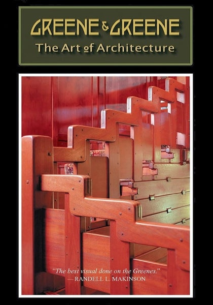 Image of DVD - Greene & Greene: The Art of Architecture