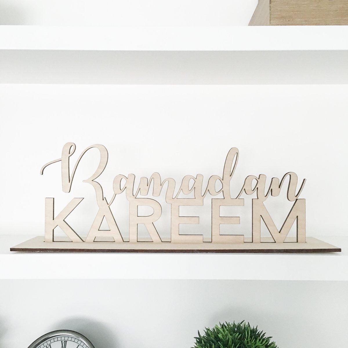 Image of ramadan + eid pop up plaque
