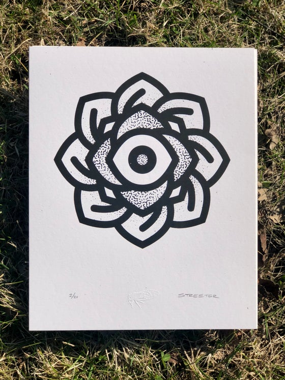 Image of Eye Mandala 8x10 Print