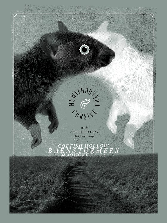 Image of MewithoutYou & Cursive at Codfish Hollow - Poster