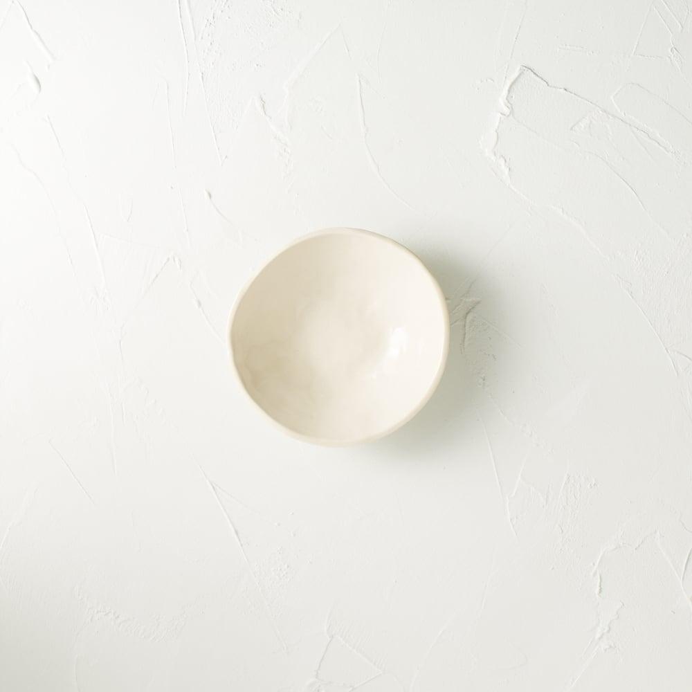 Image of Satin cream dish