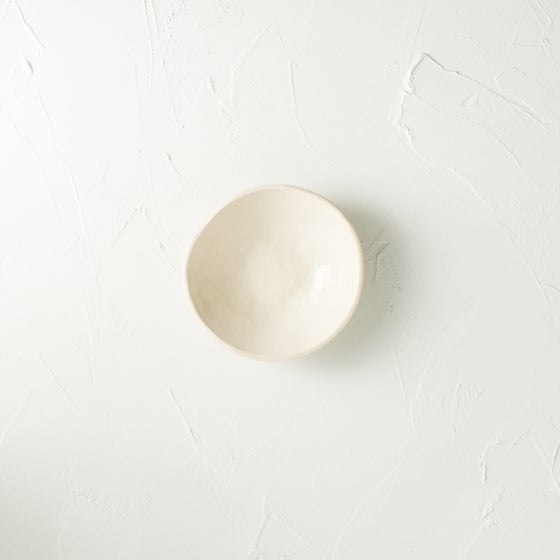 Image of Satin cream dish