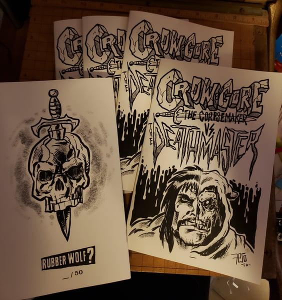 Image of Crow-Gore vs. The Deathmaster minicomic