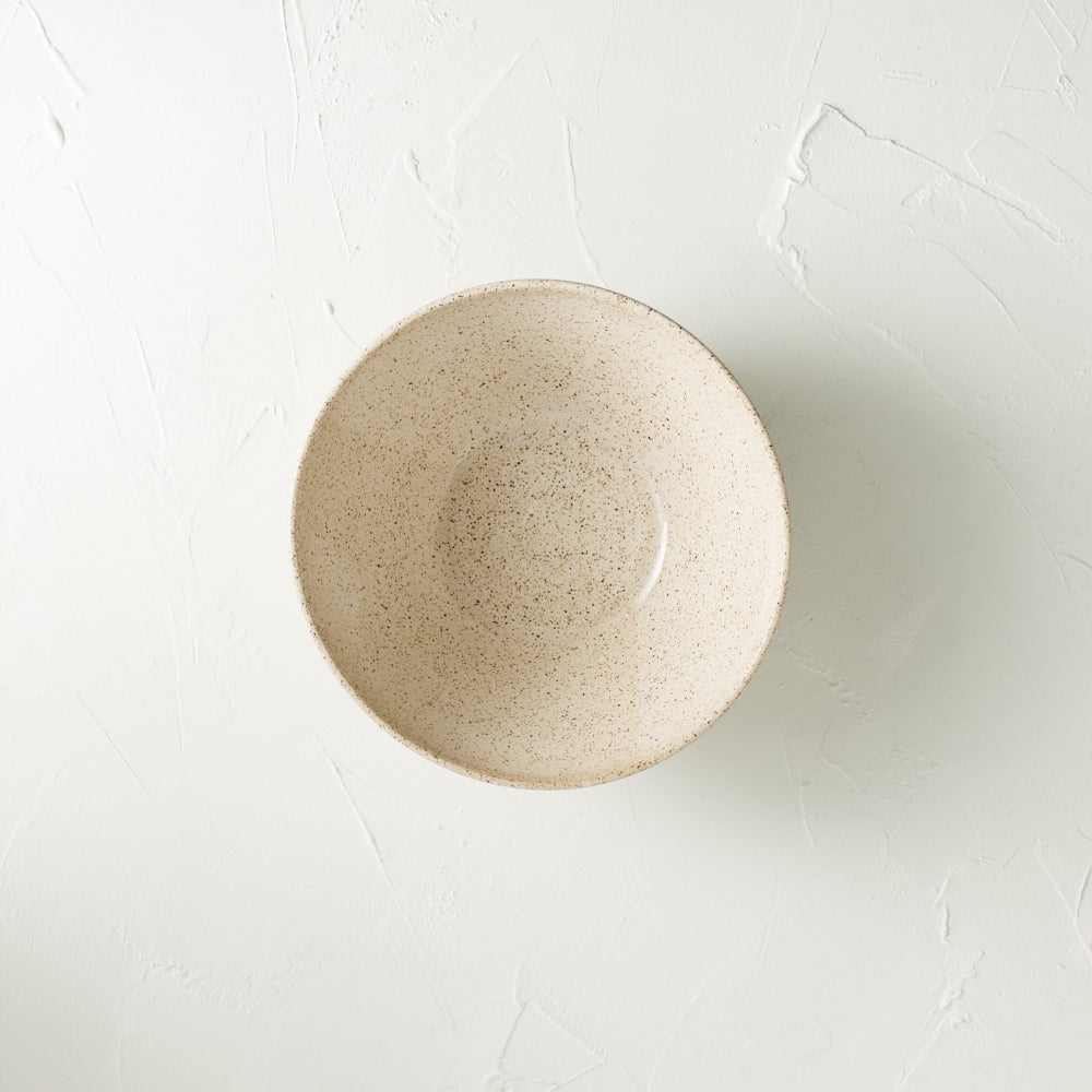 Image of Cream speckled bowl 3