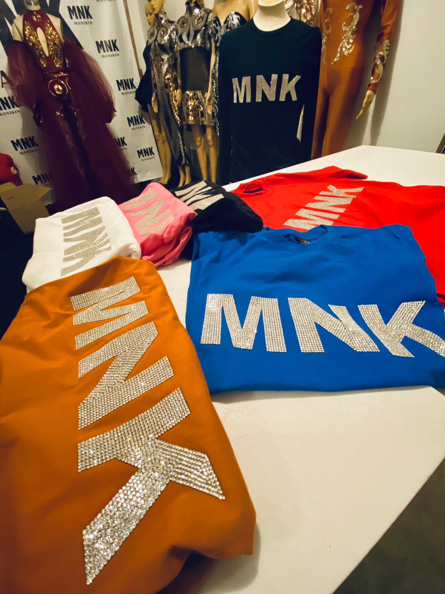 Image of Platinum MNK T shirts (Short Sleeve)