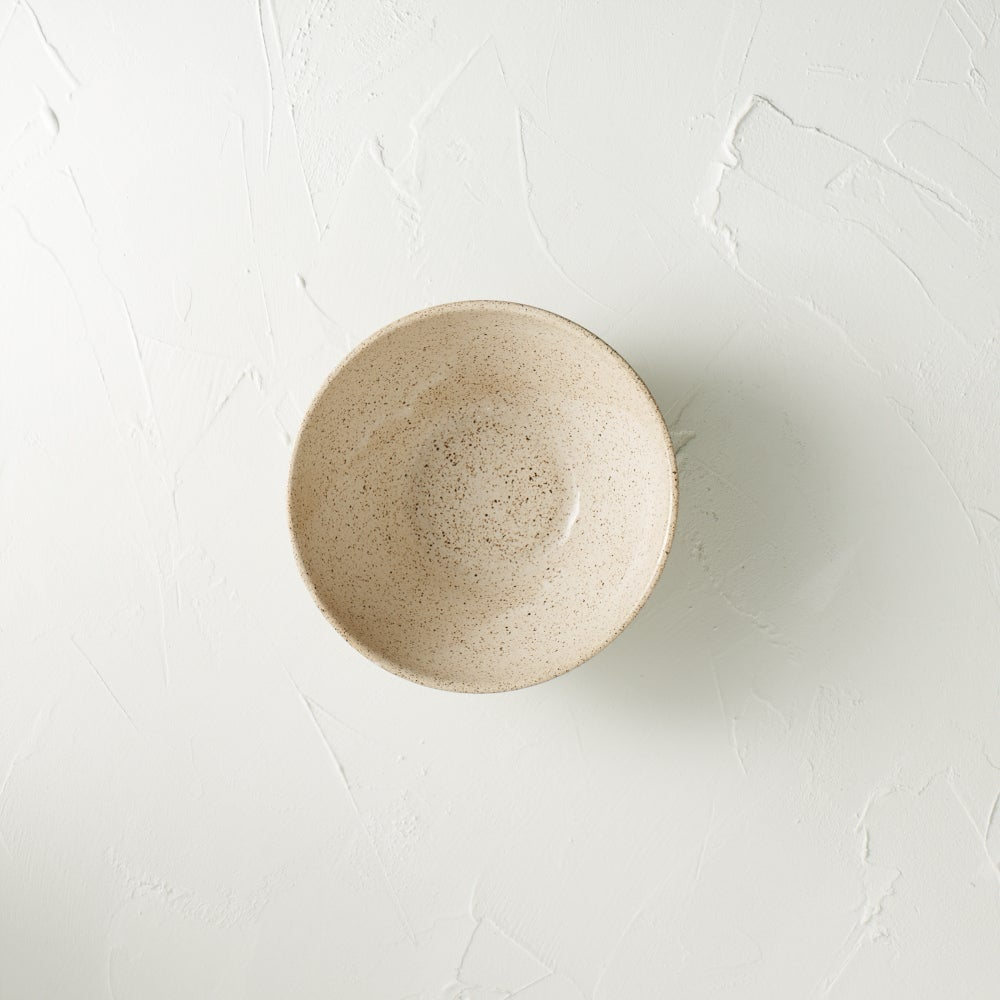 Image of Cream speckled bowl 5