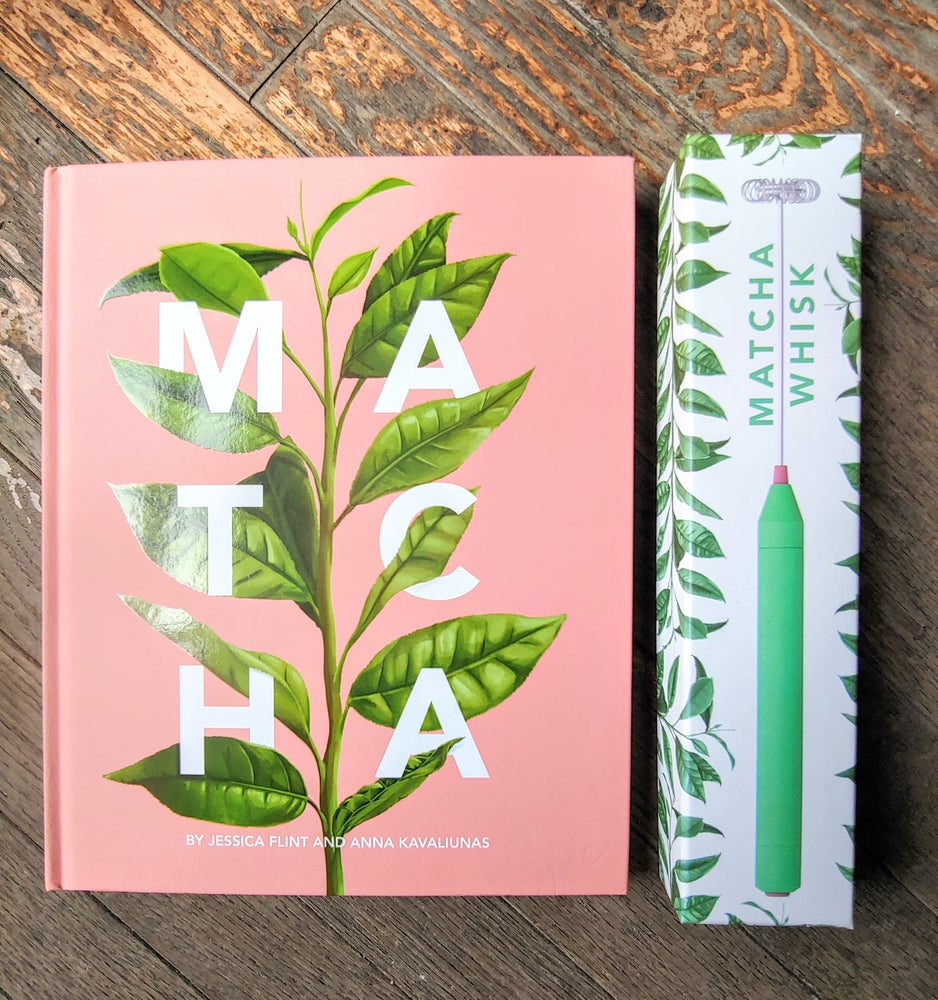 Image of Matcha Book // Matcha Whisk