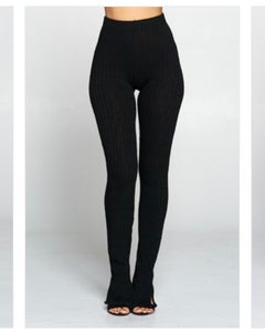 Image of Slit leggings