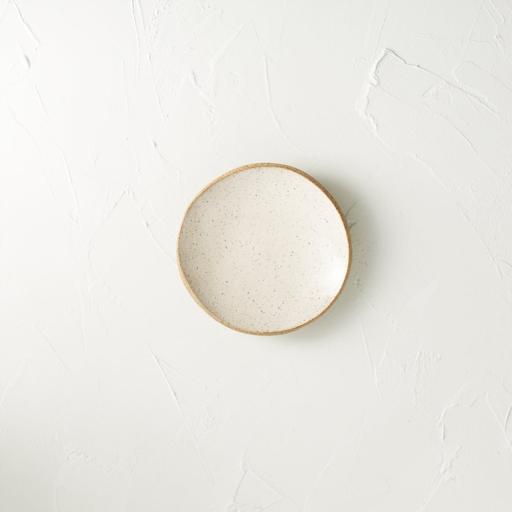 Image of Cream speckled dish 2