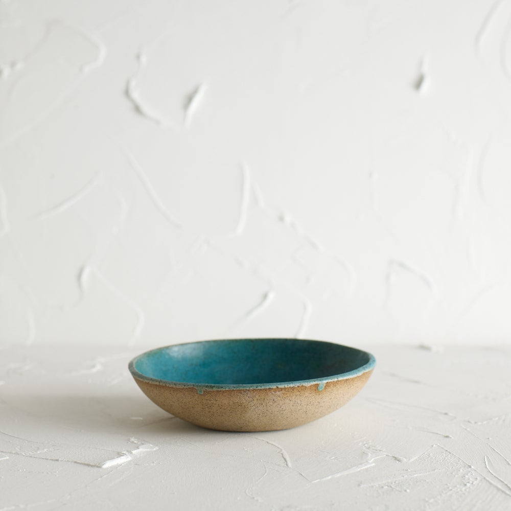 Image of Turquoise dish