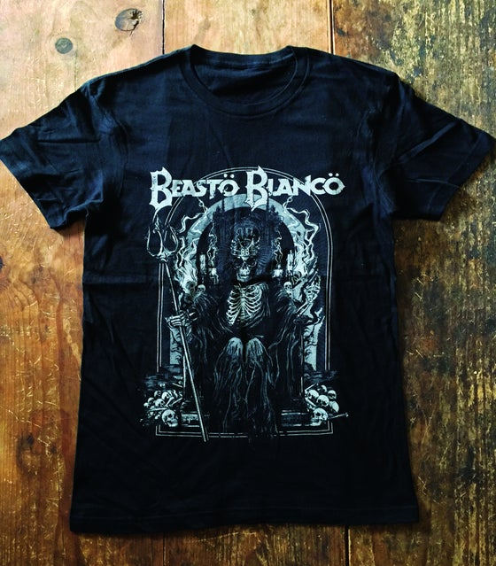 "Image of OFFICAL - BEASTO BLANCO - ""MEGA"" GREY UNISEX SHIRT"