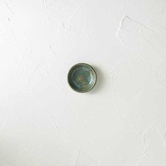 Image of NEW!! Metallic blue dish