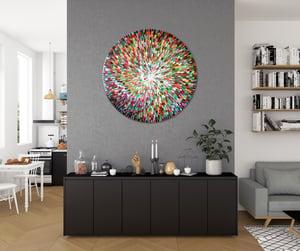 Image of Terra vivere - 90x90cm