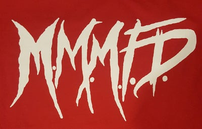 Image of M.M.M.F.D : FULL PRINT LOGO   reg shirt