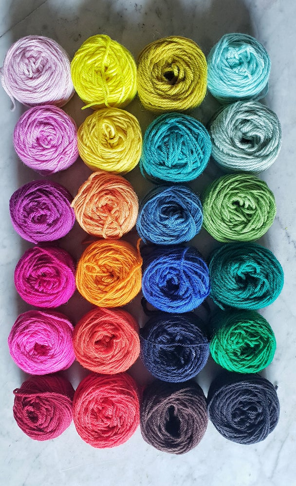Image of Rainbow wool pack