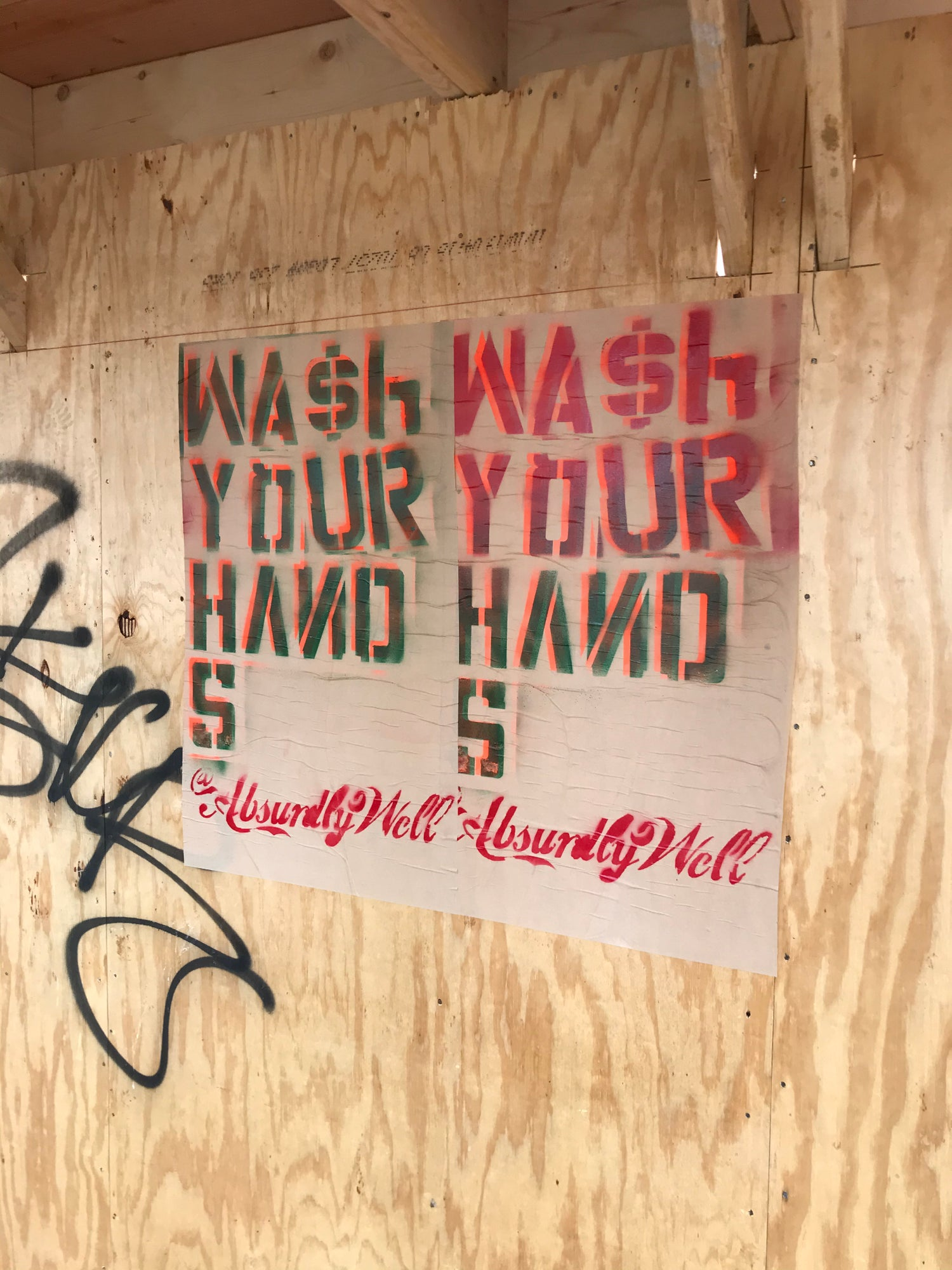 Image of Wash Your Hands Poster