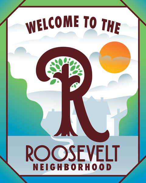 Image of Welcome To Roosevelt Print