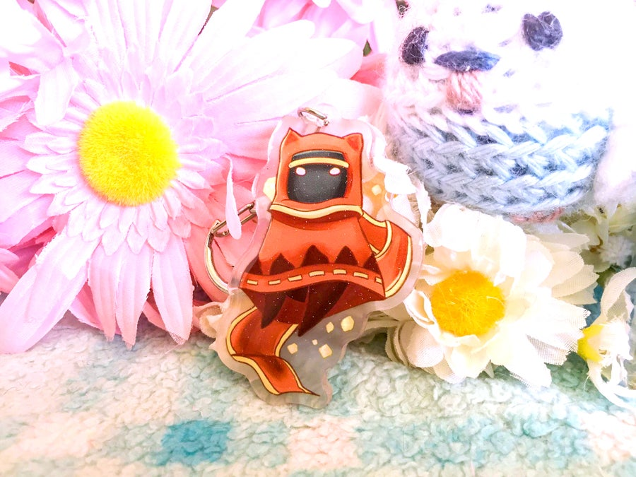 Image of Journey Acrylic Charm Keychain