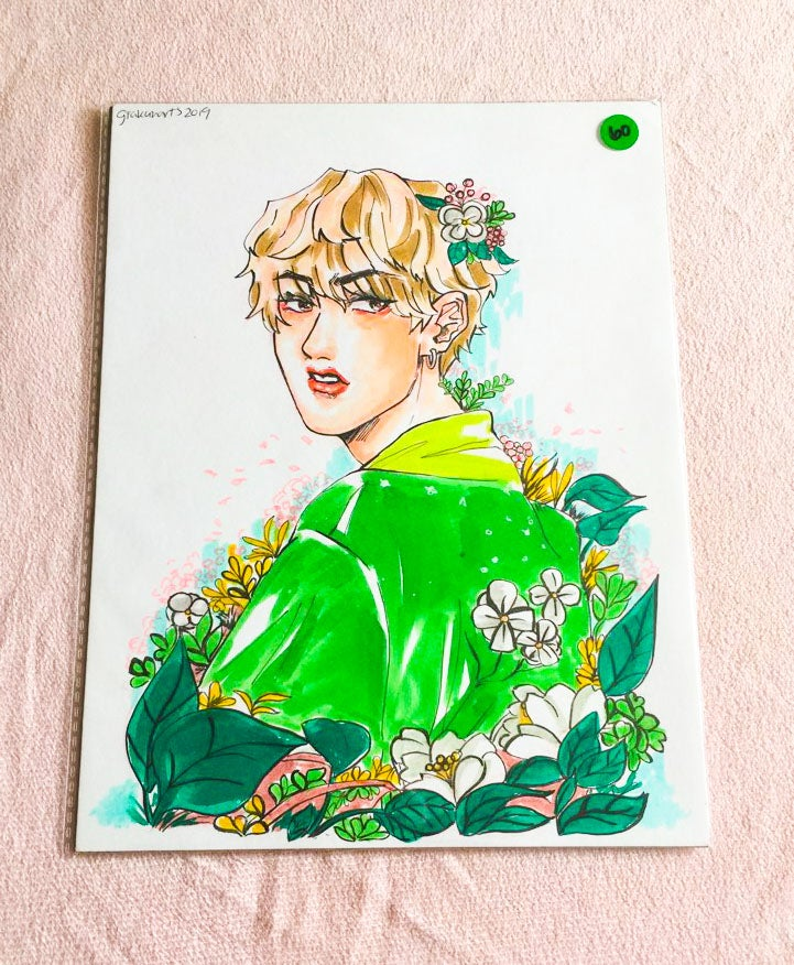 Image of [Original Art] Flower Boy