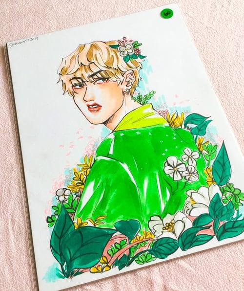Image of [Original Art] Flower Boy