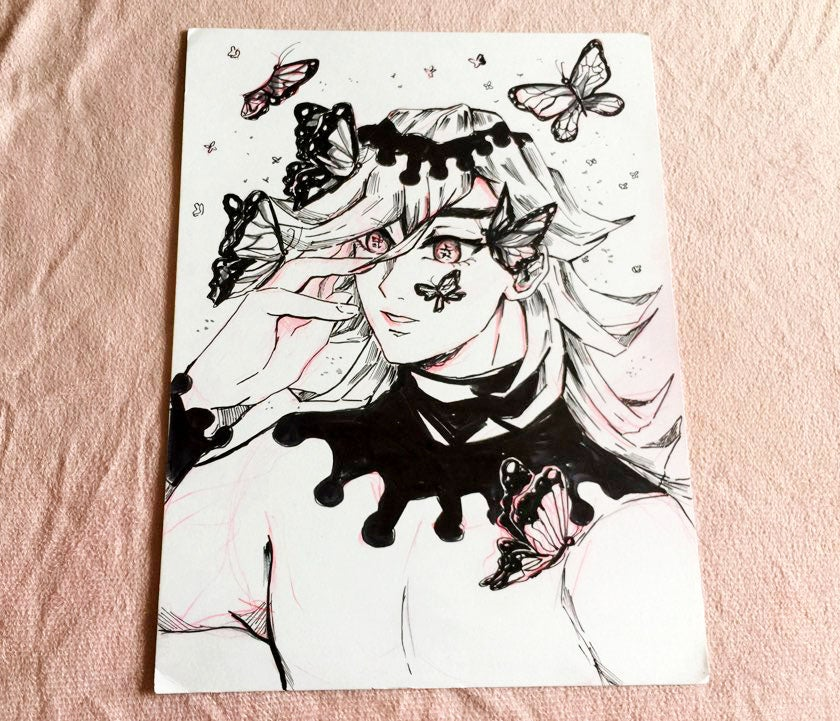 Image of [Original Art] Demon Slayer/Kimetsu No Yaiba Douma