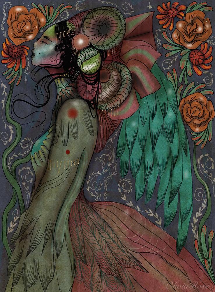 Image of Botanical angel