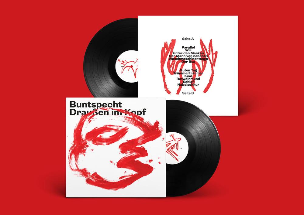 Image of Buntspecht - Draußen im Kopf (Vinyl) SOLD OUT