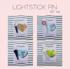 LIGHTSTICK ACRYLIC PIN SET Image 4