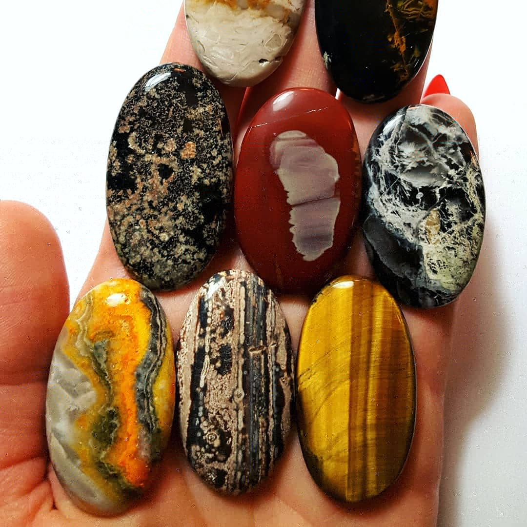 PALM ROOT AGATE