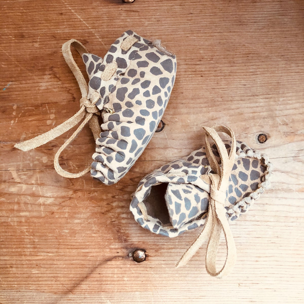 Image of Baby Moccasins - Spots