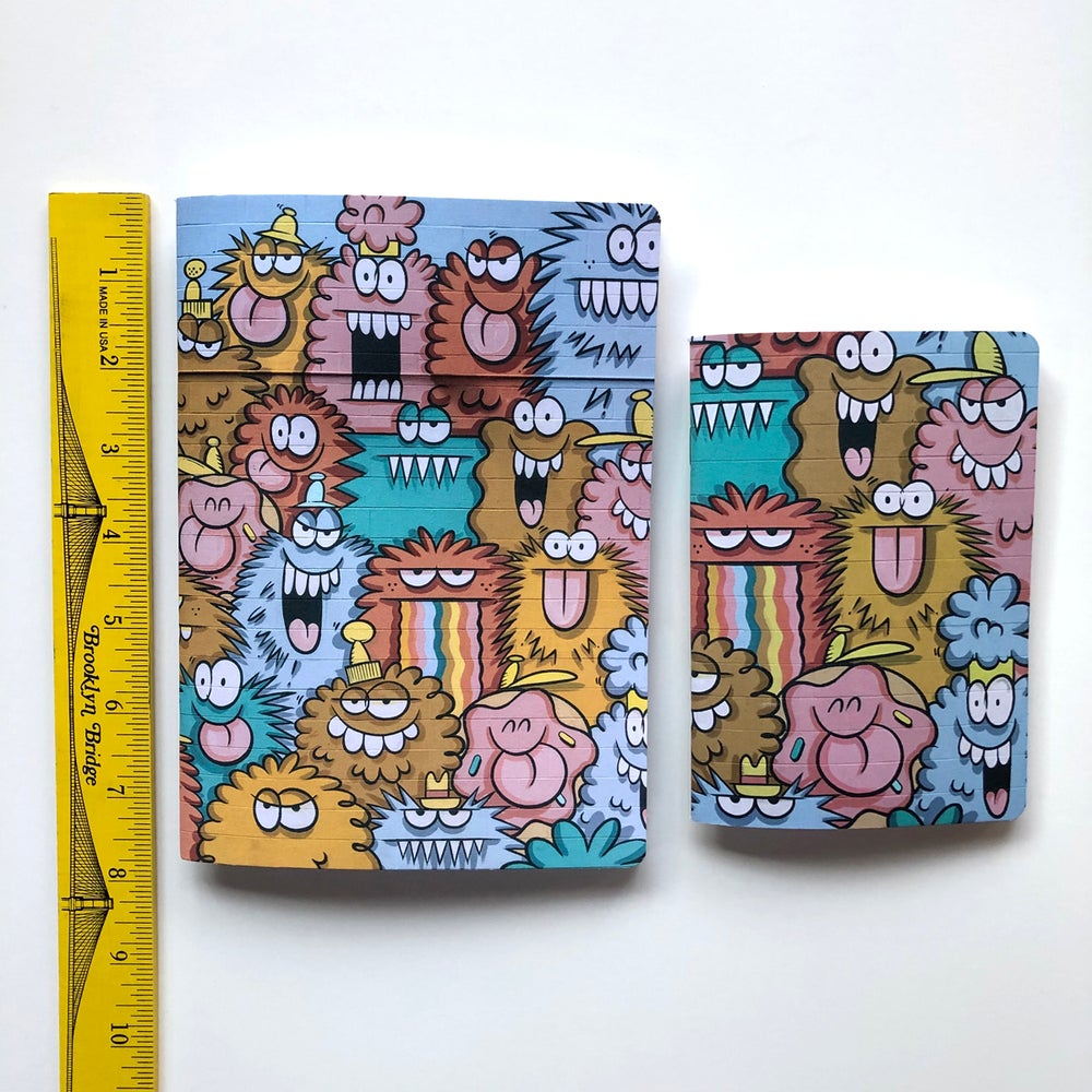 Image of NOTEBOOK SET + 6 STICKERS