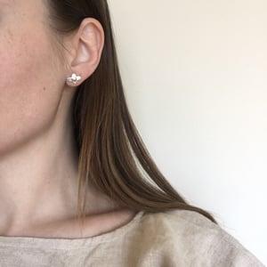 Image of foil earring