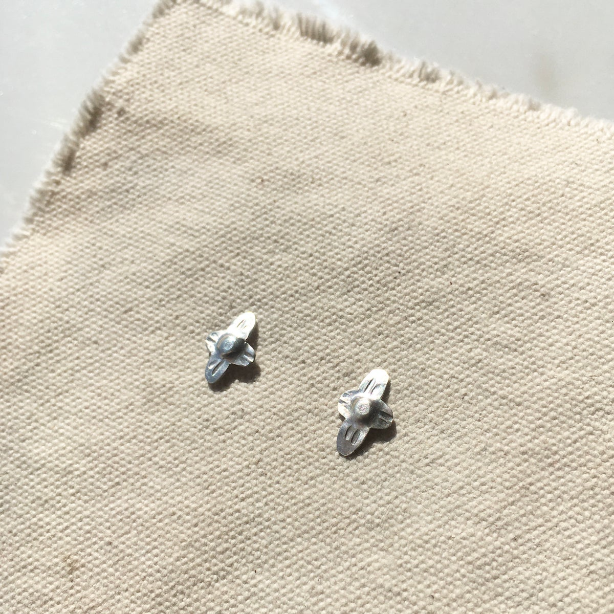 Image of foil earring