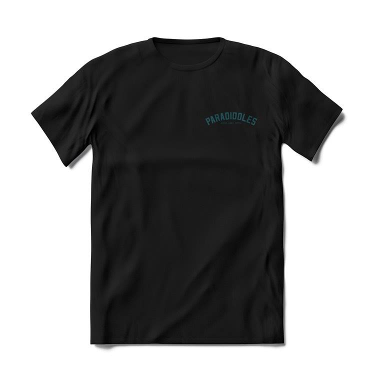 Black T-Shirt - Small Paradiddles Logo