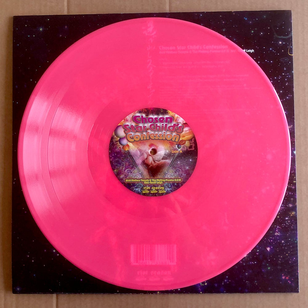 ACID MOTHERS TEMPLE 'Chosen Star Child's Confession' Pink Vinyl LP