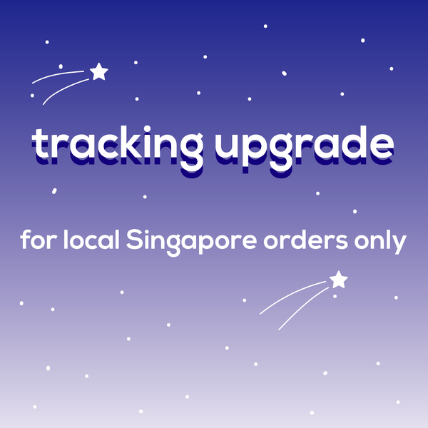 Image of Tracking upgrade for local Singapore orders