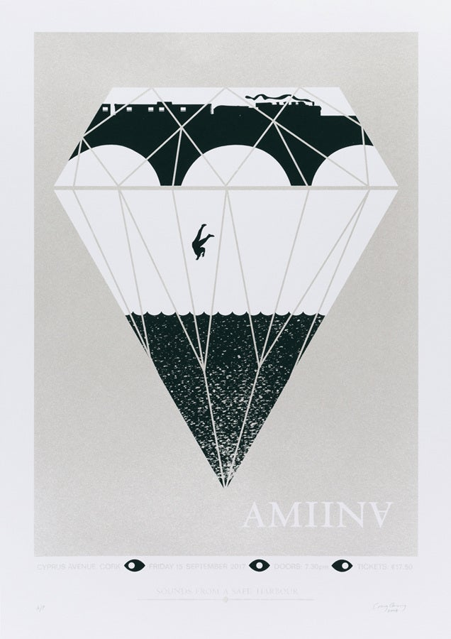 Image of AMIINA, Cyprus Avenue, Cork Poster