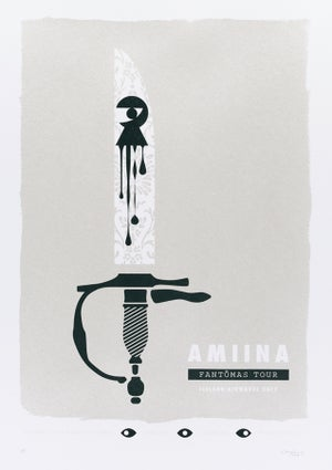 Image of AMIINA, Iceland Airwaves 2017 Poster