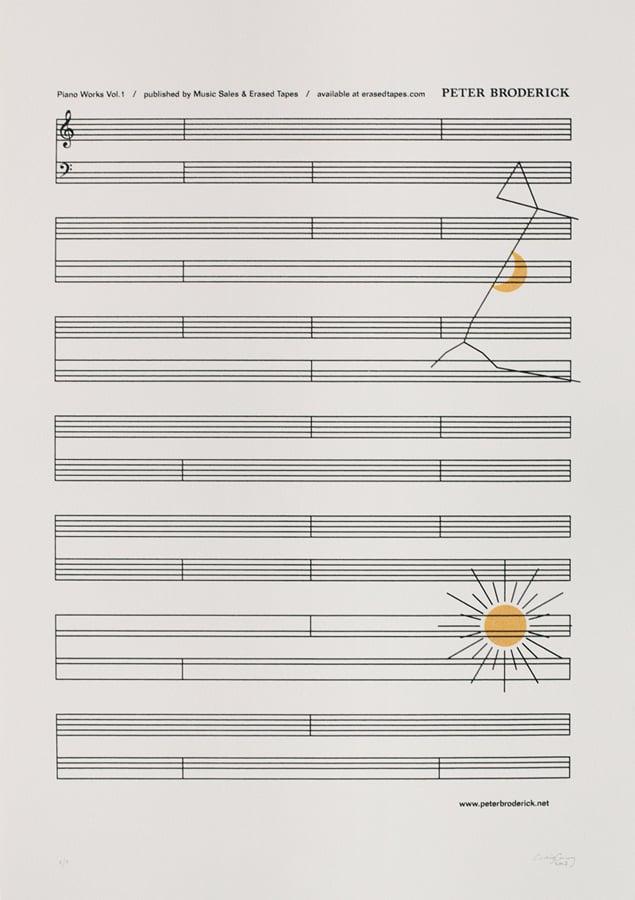 Image of PETER BRODERICK, Sheet Music