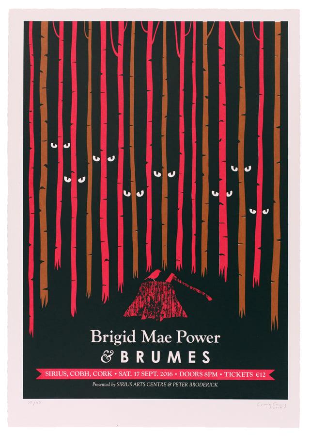 Image of BRIGID MAE POWER with BRUMES, Sirius Arts Centre