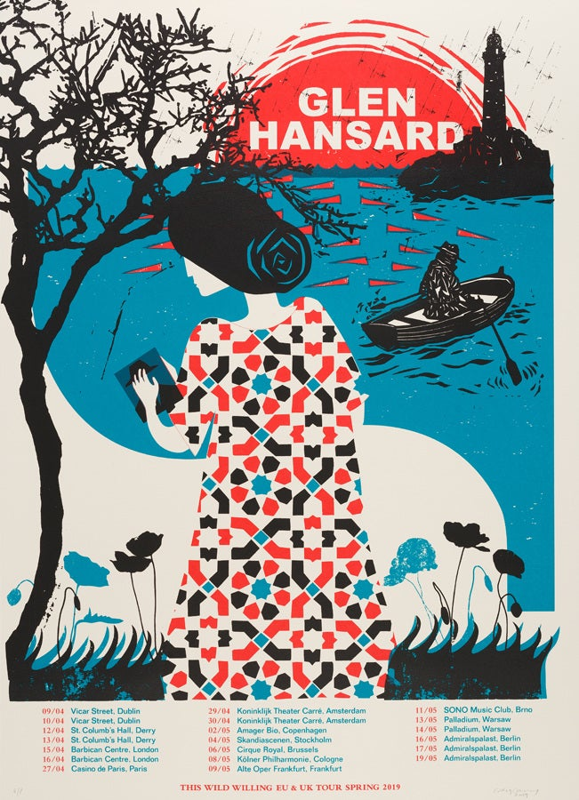 Image of GLEN HANSARD, This Wild Willing EU Tour '19 A/P