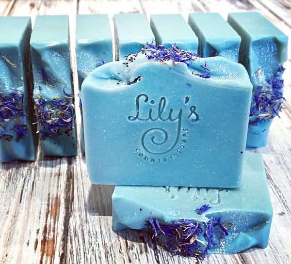 Image of Blue Hydrangea Goat Milk Soap