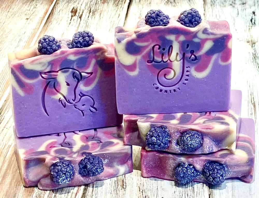 Image of Midnight Berry Goat Milk Soap