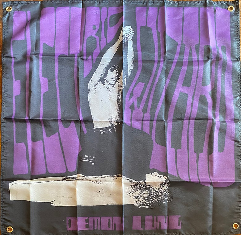 "Image of Electric Wizard "" Demon Lung "" Banner / Tapestry / Flag"
