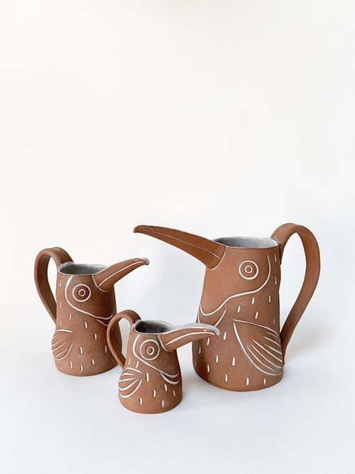 Image of Mini Baby Toucan Creamer with Handle