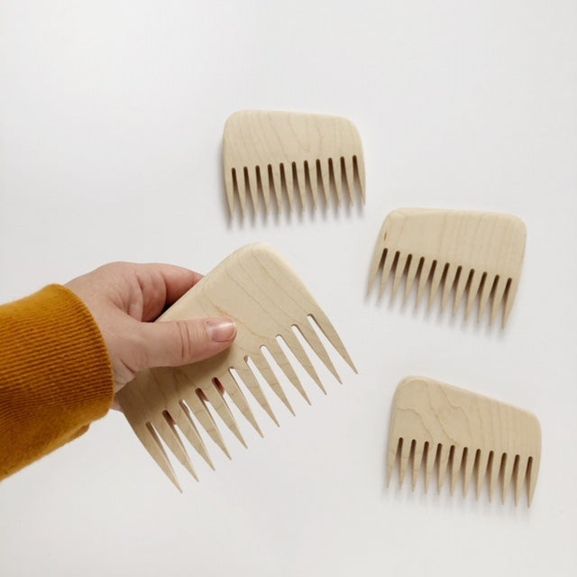 Image of Maple Weaving Comb