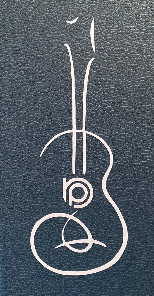 Image of Contemporary BP Ukulele Vinyl Decal