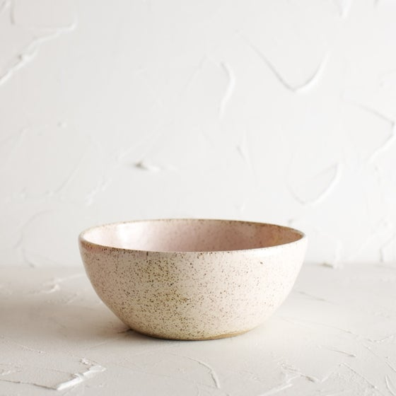 Image of Blushing Freckled bowl