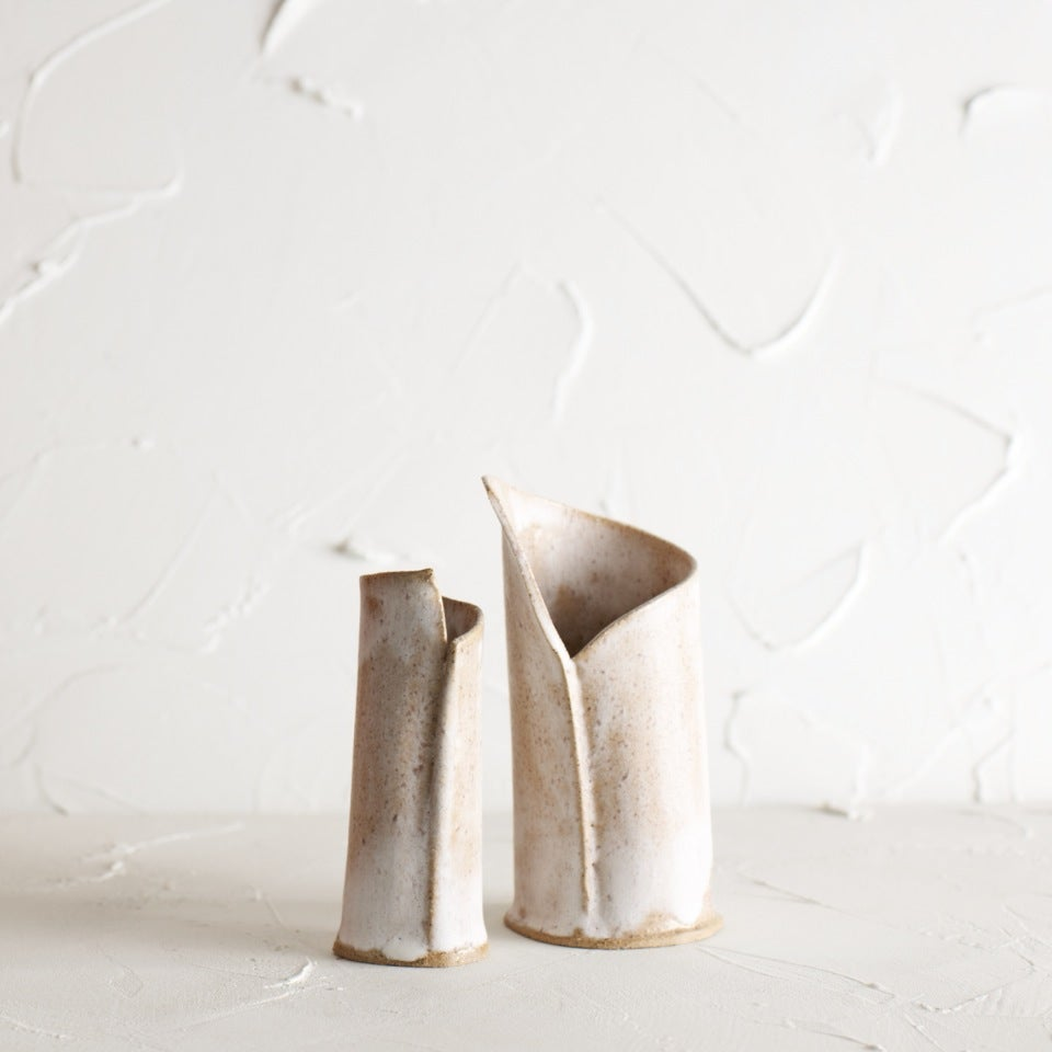 Image of Matte Birch little vase