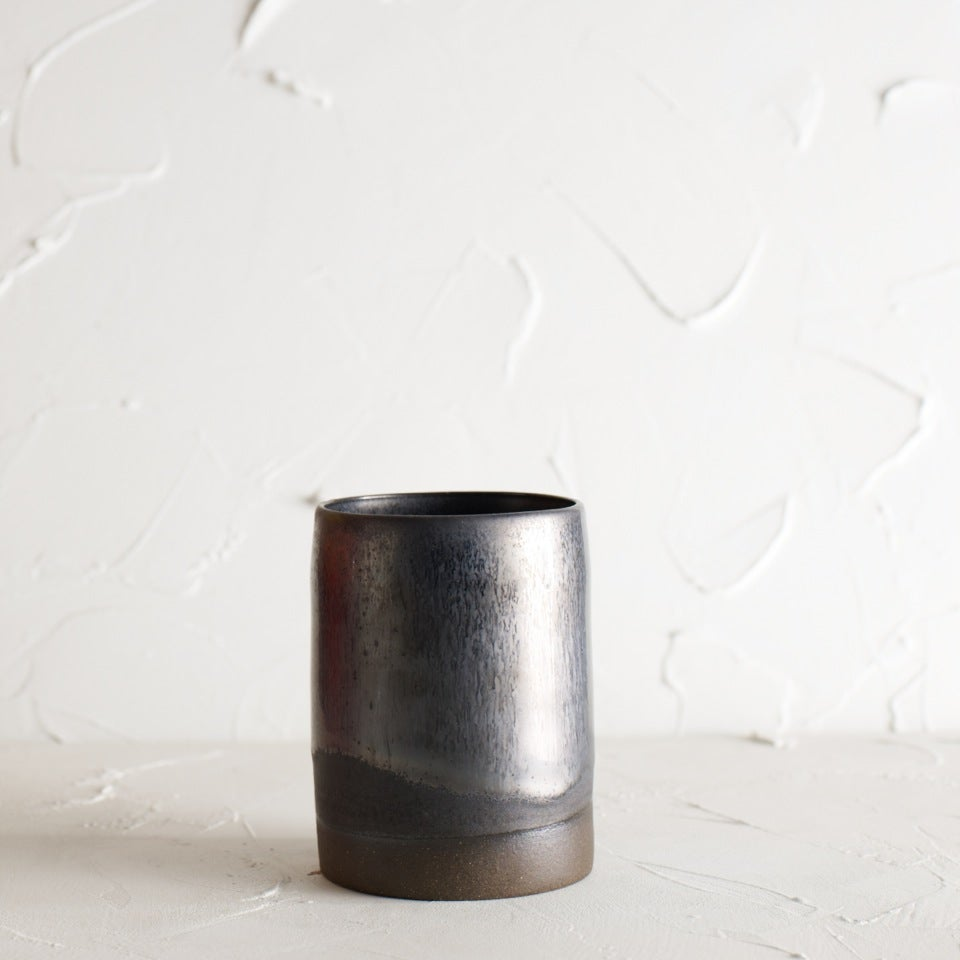 Image of Gunmetal vase